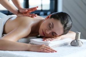 femme en massage