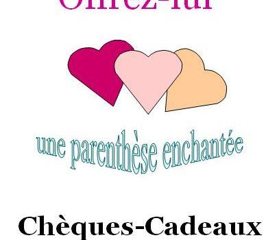 Chèques-Cadeaux Saint Valentin