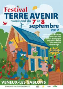 affiche du Festival Terre Avenir de Veneux Les Sablons des 7 et 8 septembre 2019