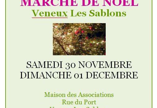 Marché de Noël à Veneux Les Sablons