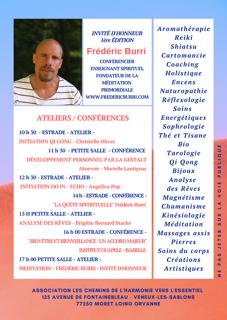 affiche programme salon du Bien-être veneux Les Sablons 16 février 2020
