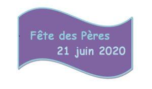 image fête des pères 21 juin 2020