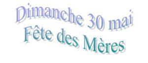 wordart fête des mères 30 mai