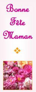 façade de la carte-cadeau spécial fête des mères